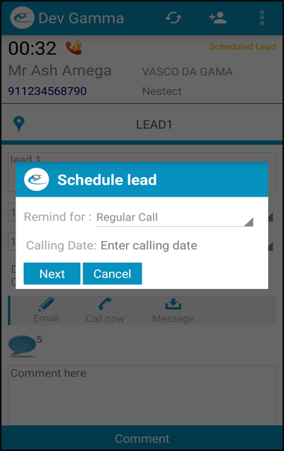 smart schedule wall sales crm