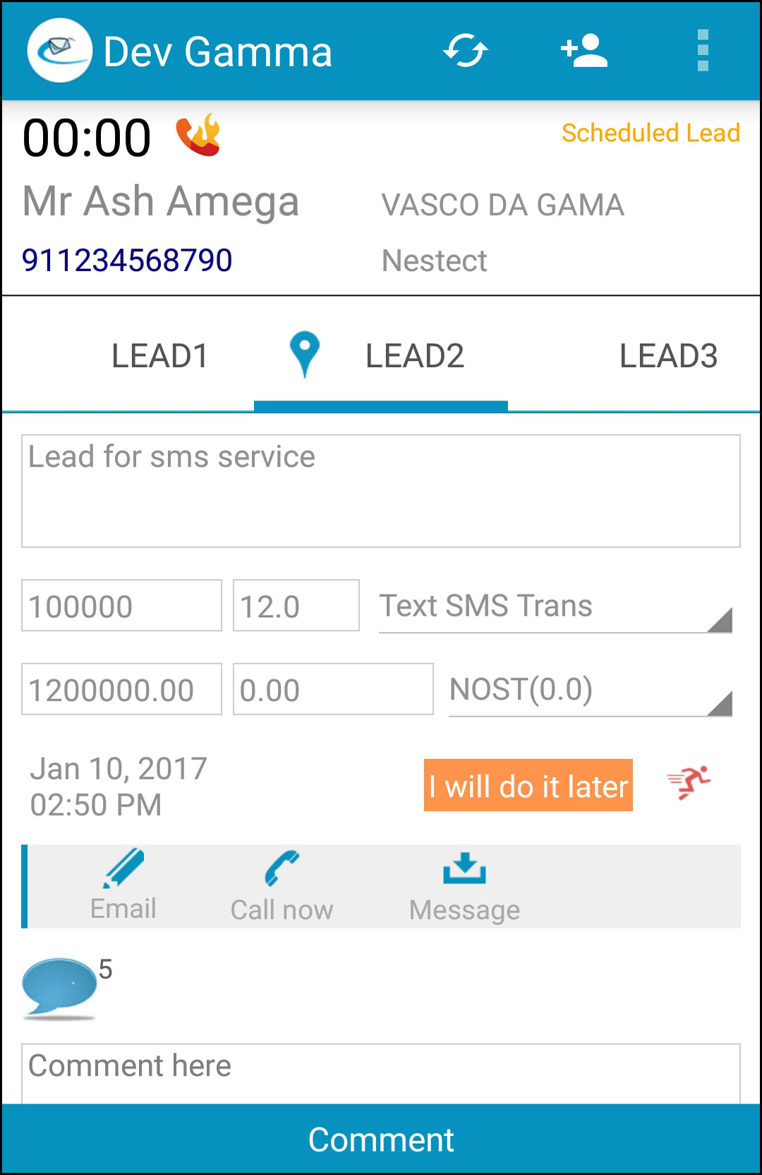 auto dialer to connect call sales crm